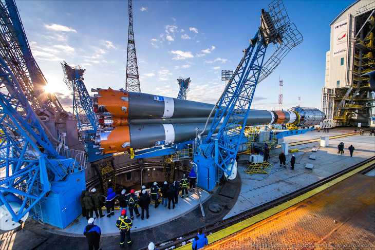 Космодром Восточный к первому запуску готов! (34 фото)