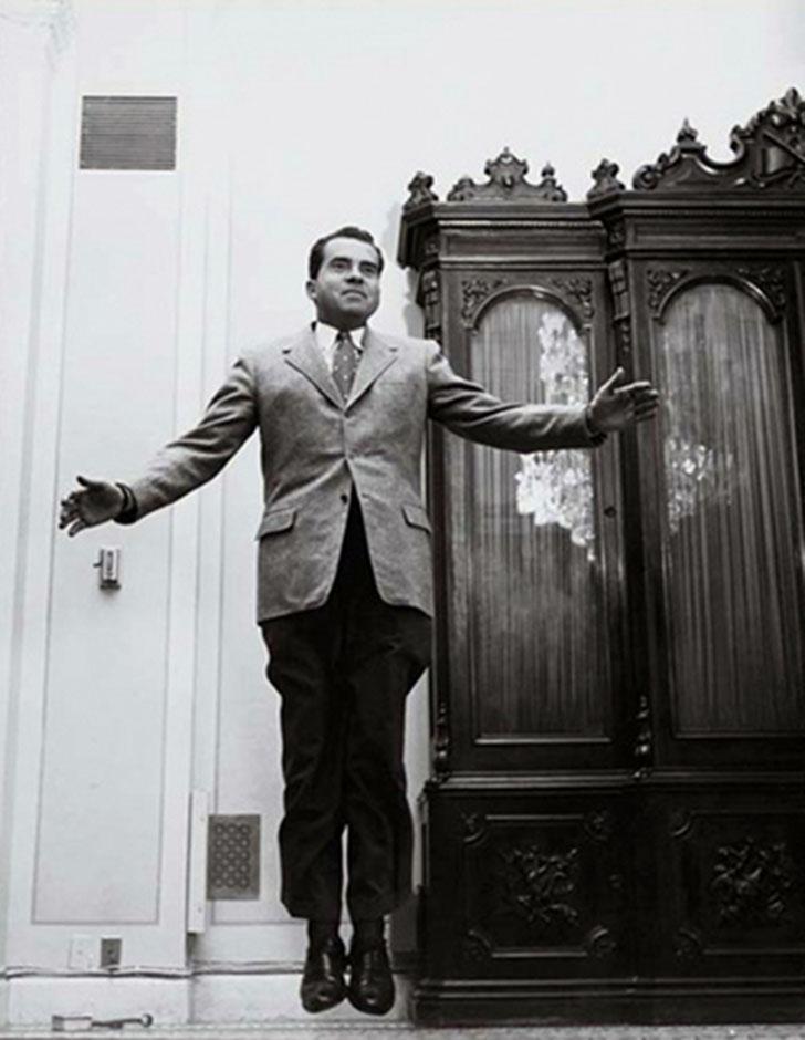 Ричард Никсон — 37-й президент США.