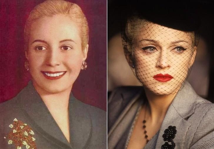 Эва Перон и Мадонна, воплотившая ее образ на экране Эва-Мария Дуарте родилась в деревне в 300 км от