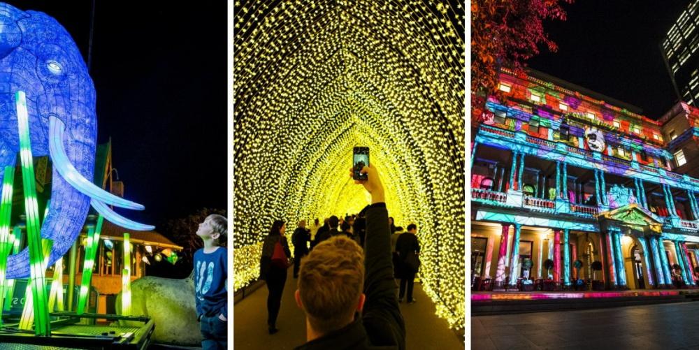 Фестиваль света Vivid Sydney проходит вСиднее вначале зимы. Кстати, вынезабыли, что зима вАвстр