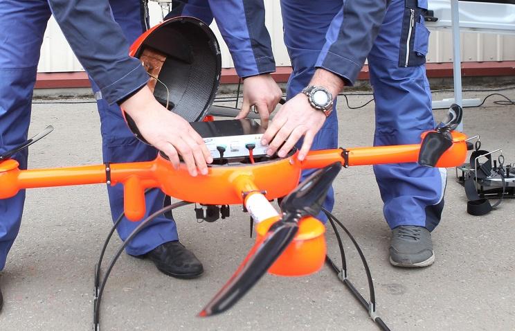Профессионалы изНовосибирска разработали неповторимую «скорую помощь» для дронов