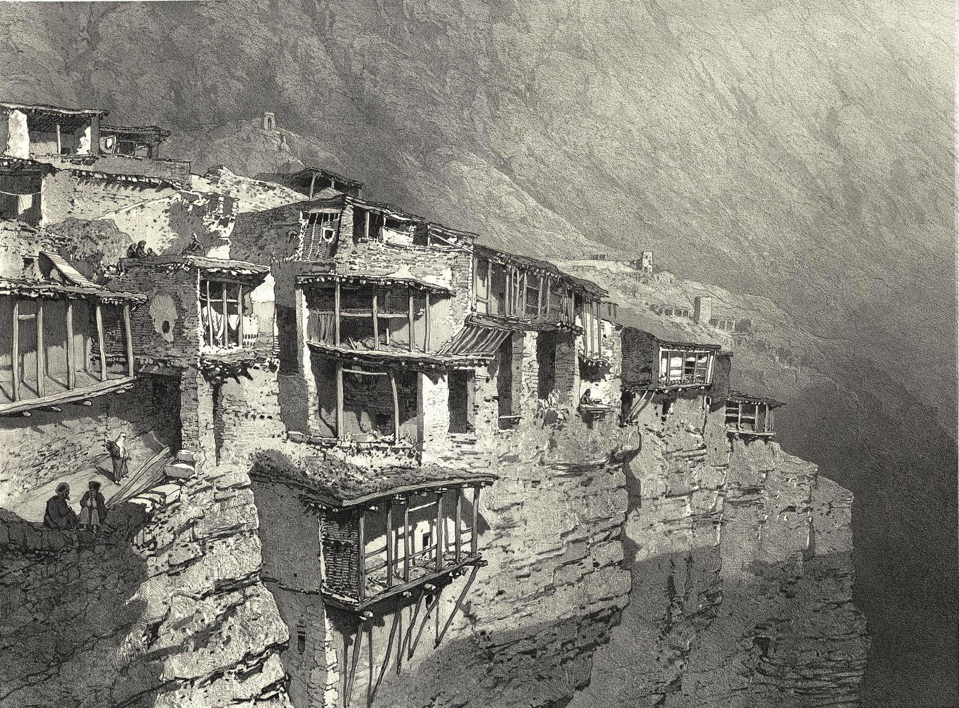 65. Daghestan. Arakane dans le Koissoubou / Дагестан. Аракани