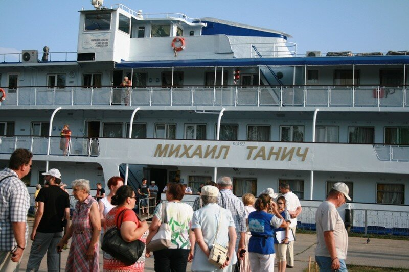 Городской округ город Чкаловск посетили туристы с т/х «Михаил Танич»