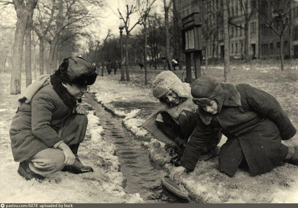 Москва, 1947 год.