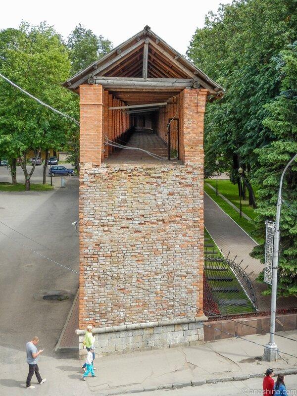 Крепостная стена, Смоленск