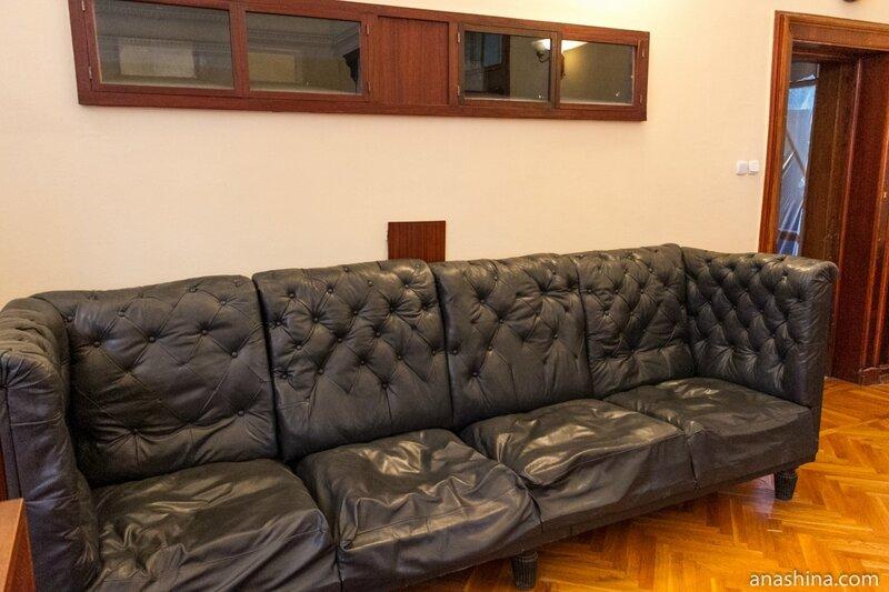 Пуленепробиваемый диван, дача Сталина в Сочи