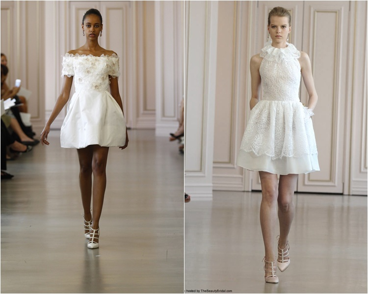 короткие свадебные платья 2016 фото 11