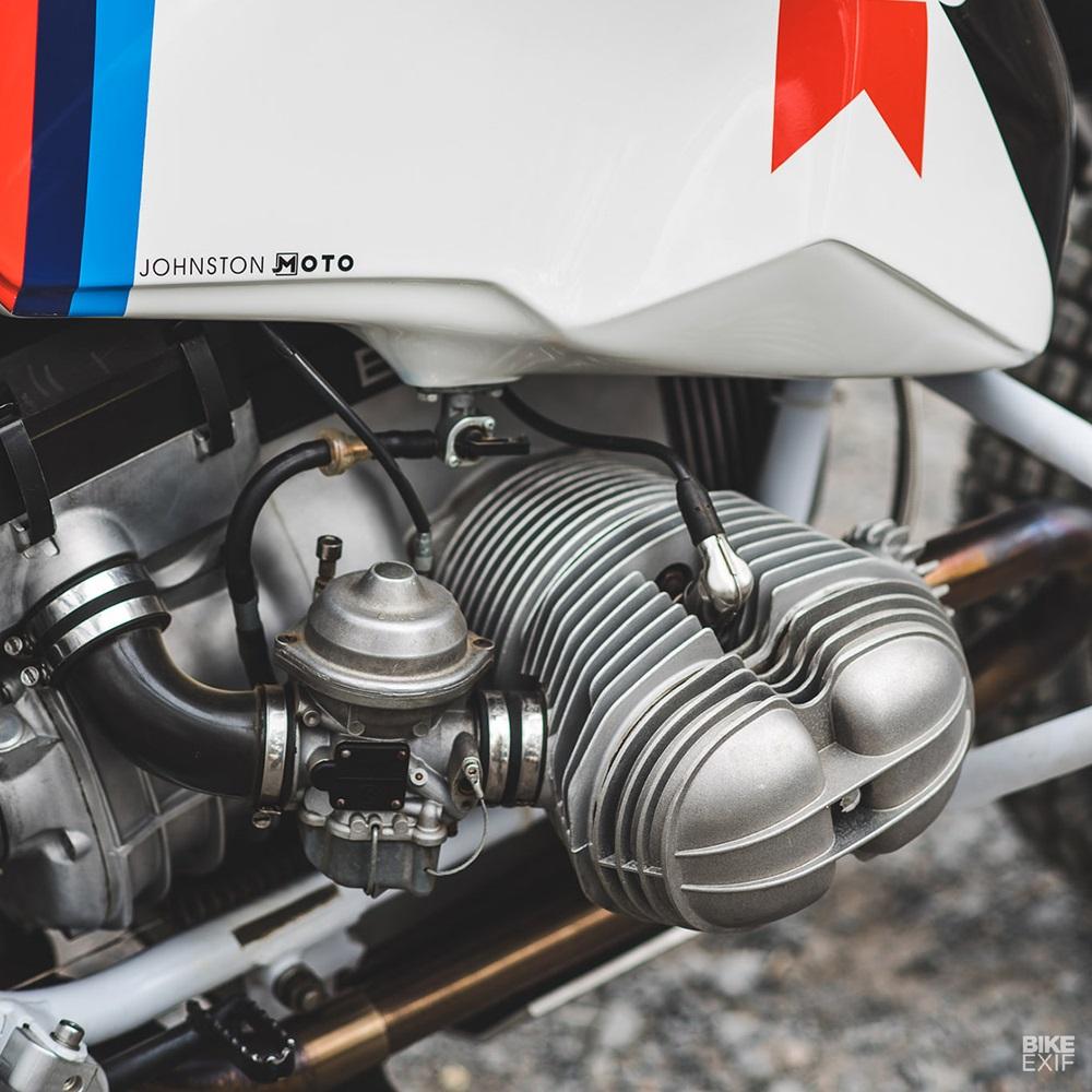 Марк Джонстон: Кастом  BMW R80G/S Rally