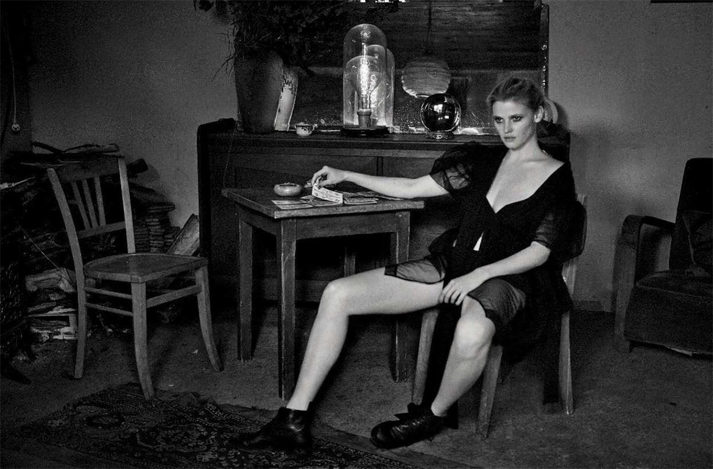 Колдуньи - Фрея Беха Эриксен и Лара Стоун / Lara Stone & Freja Beha Erichsen by Peter Lindbergh in Vogue Italia may 2016
