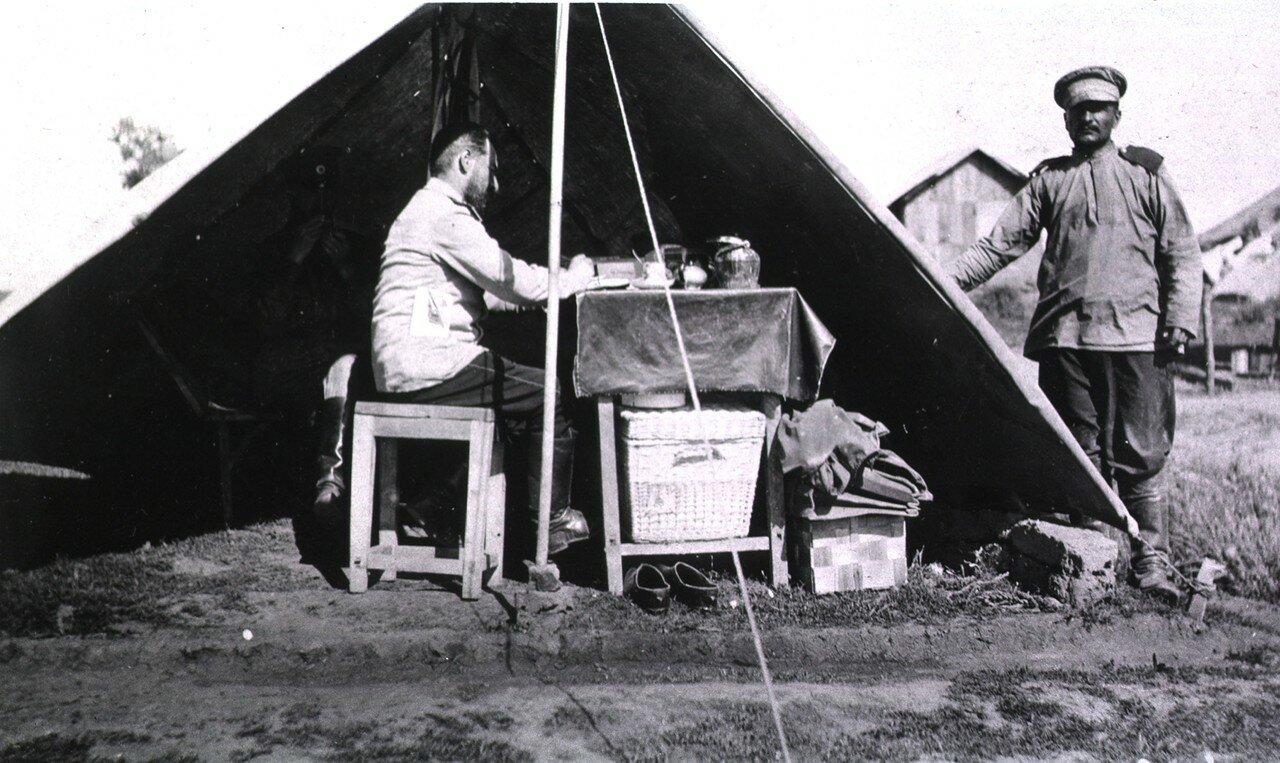 Дивизионный полевой госпиталь. Палатка хирурга