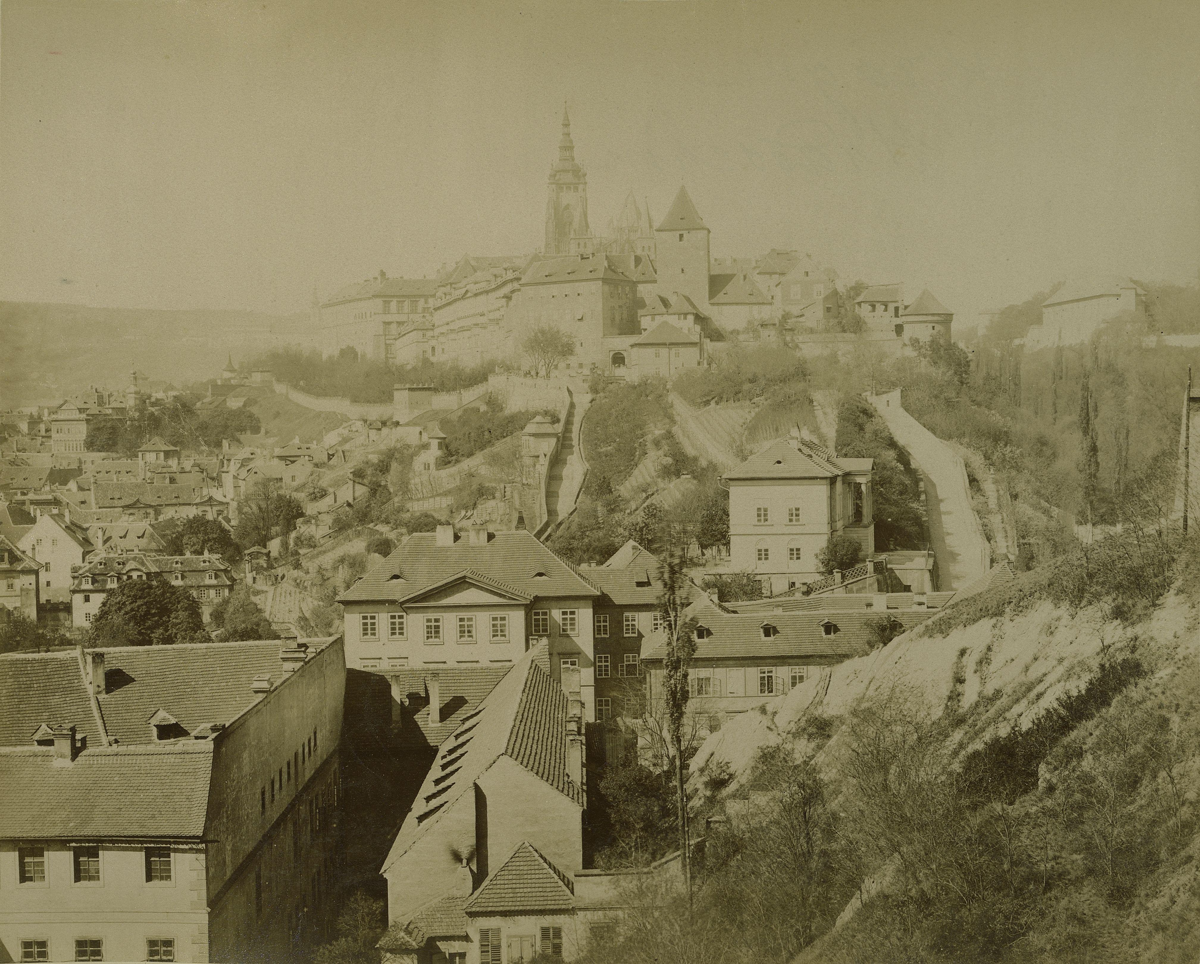 Австро-Венгрия. Прага. Замок