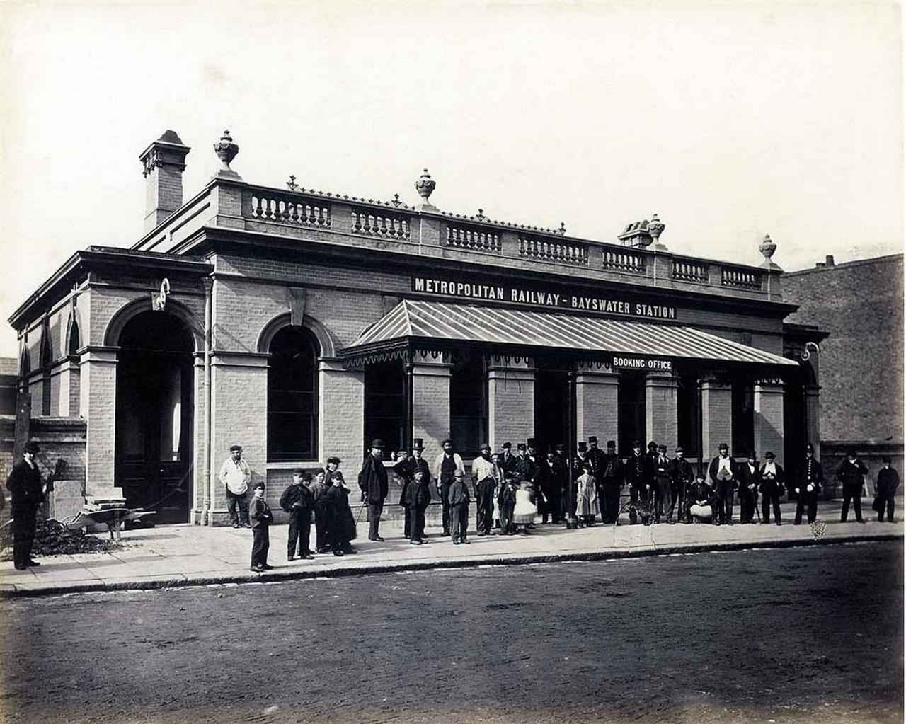 1866. Станция «Бэйсуотер»
