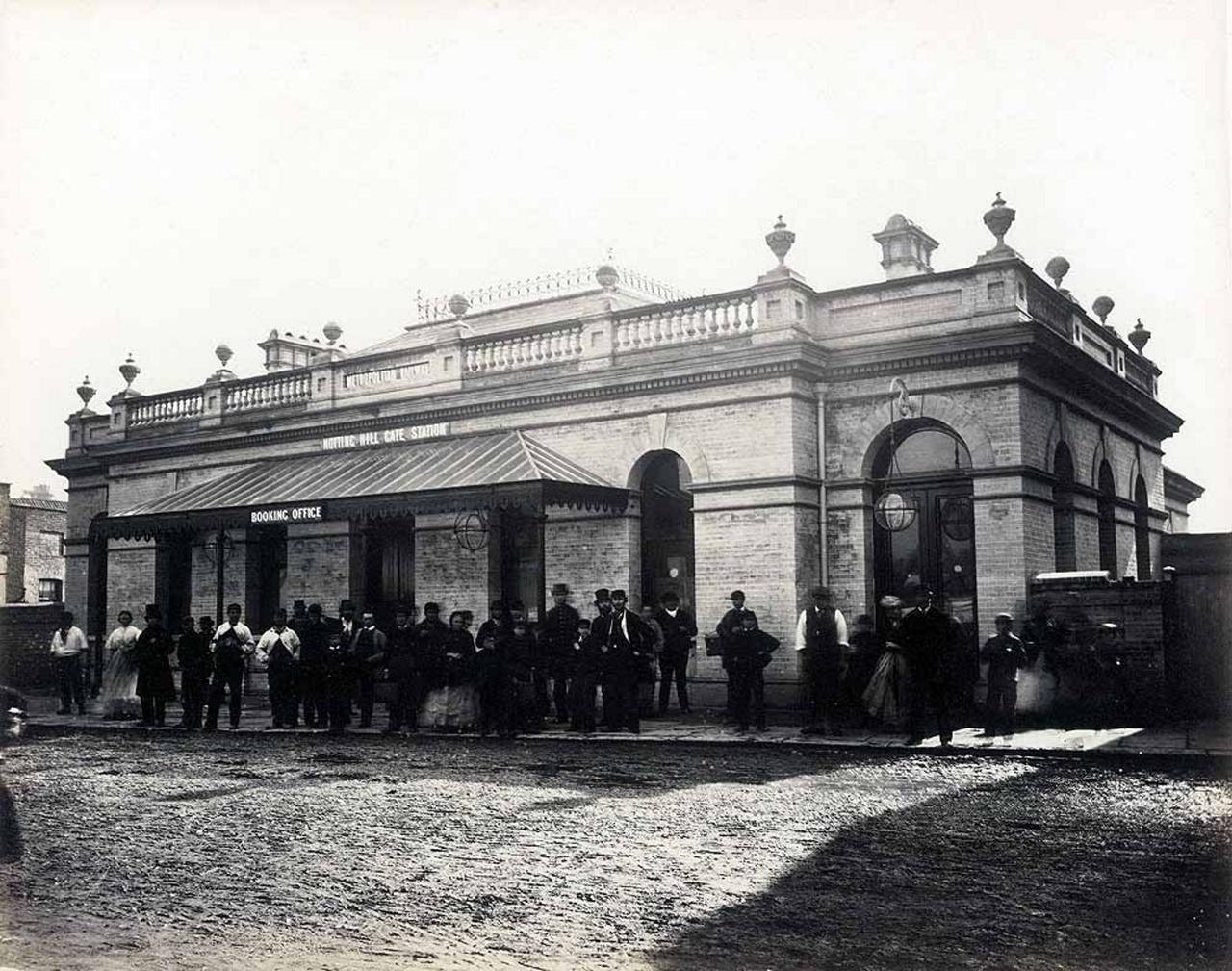 1866. Станция «Ноттинг-хилл Гейт»