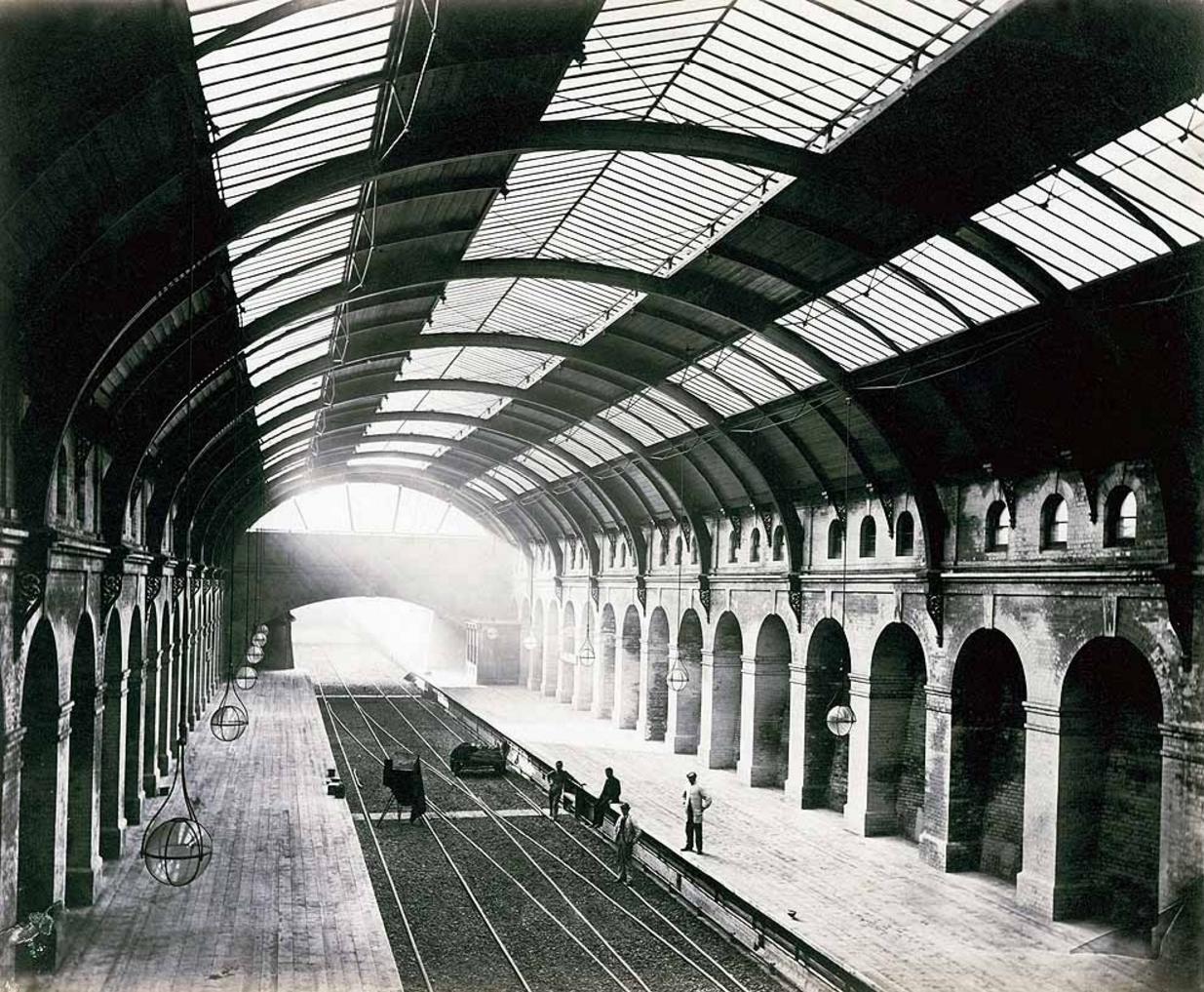 1868. Станция «Бэйсуотер»