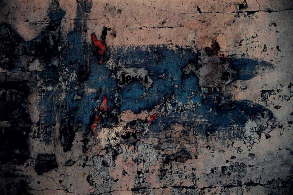 1970. Синий над фиолетовым