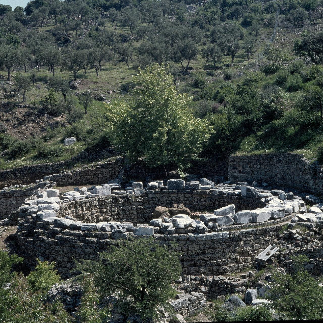 Самофракия. Арсинойон. «Святилище великих богов». Ротонда Арсинои