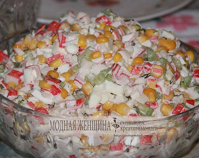 Крабовый-салат