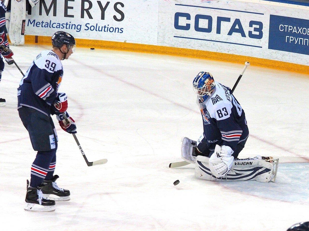 27 Первая игра финала плей-офф восточной конференции 2017 Металлург - АкБарс 24.03.2017