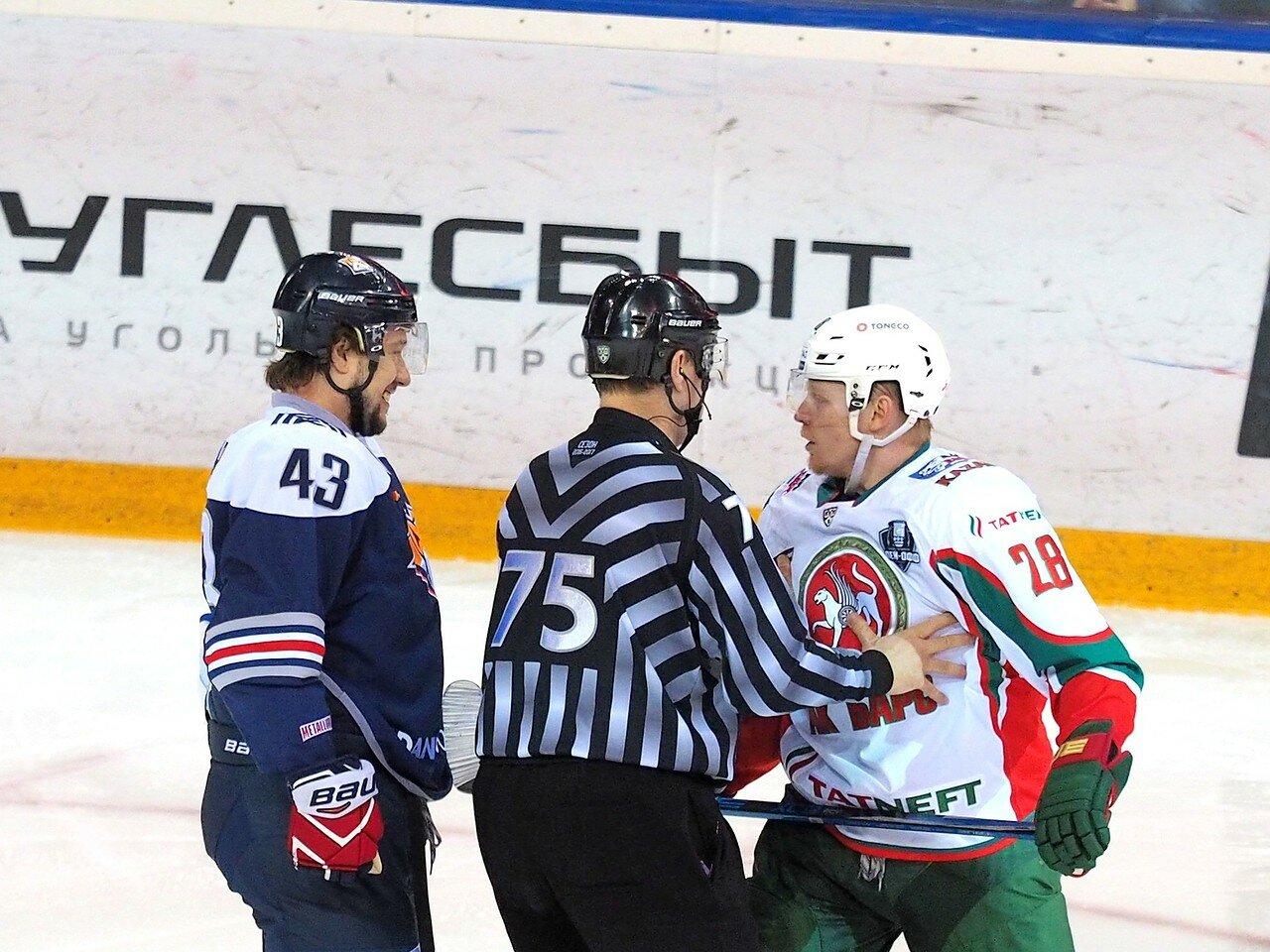 44 Первая игра финала плей-офф восточной конференции 2017 Металлург - АкБарс 24.03.2017