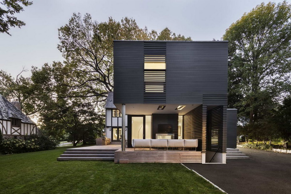 Расширение дома в Нью-Йорке
