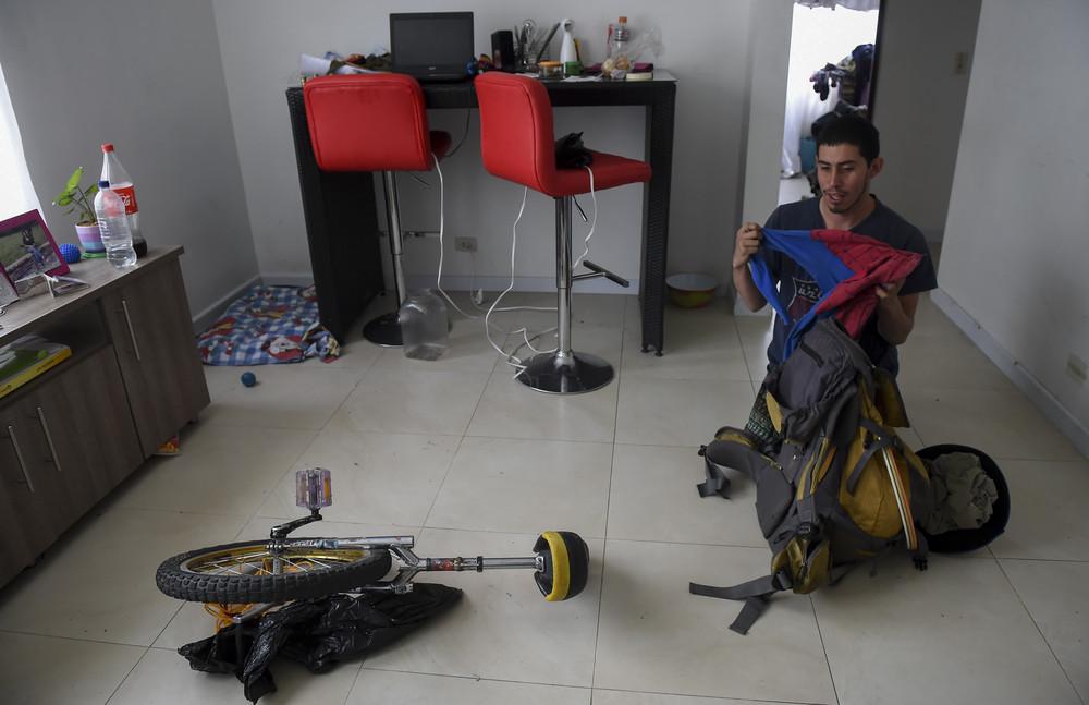 """Колумбийский """"Человек-Паук"""""""