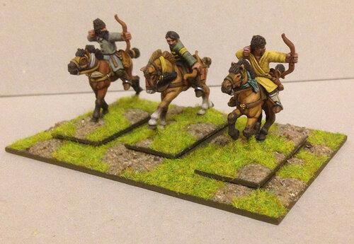 Наемные тюркские всадники