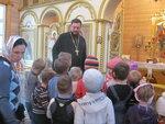 Маленькие гости из детского сада в гостях в Донском храме