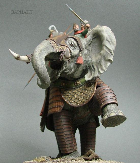 Что делал слон...