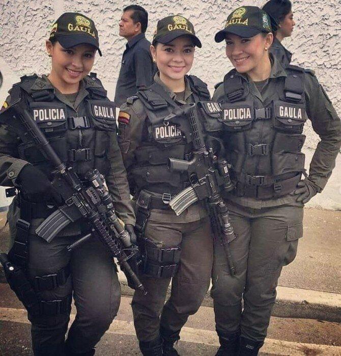 Колумбийская полиция
