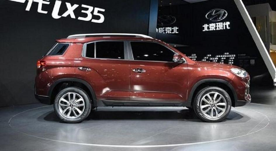 Новое поколение Hyundai ix35 показали вШанхае
