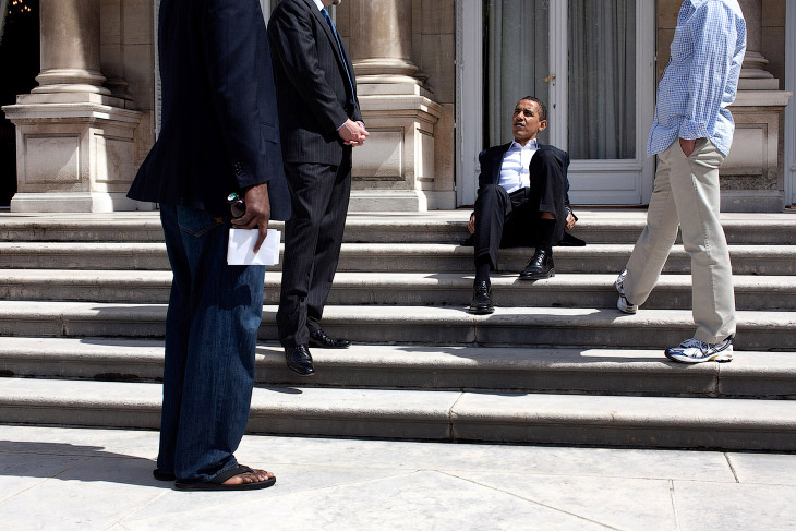 1. Белый дом, 8 мая 2009. (Фото Pete Souza   The White House):