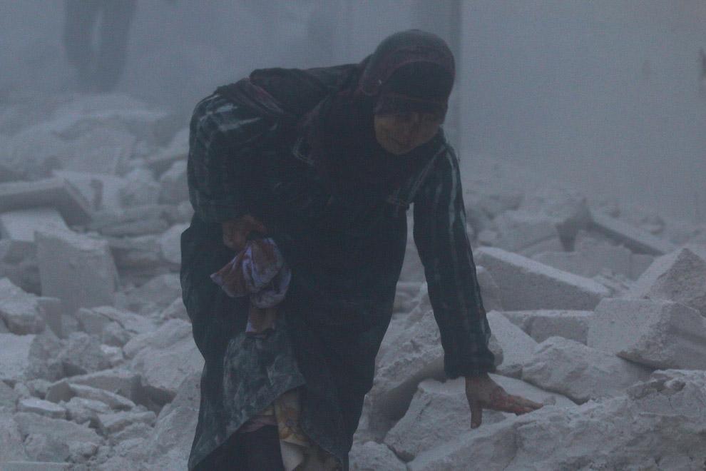 23. Алеппо, Сирия, 13 декабря 2016. (Фото Omar Sanadiki | Reuters):