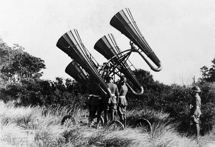 Австрийский бронепоезд в Галиции (историческая область в Восточной Европе), 1915 год. Служил дл