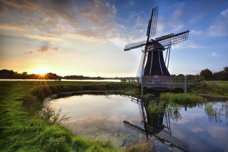 Голландские пейзажи приносят вам какое-то особенное умиротворение.