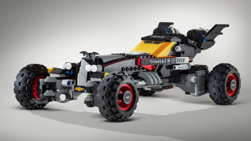 Бэтмобиль из Lego в натуральную величину (8 фото)