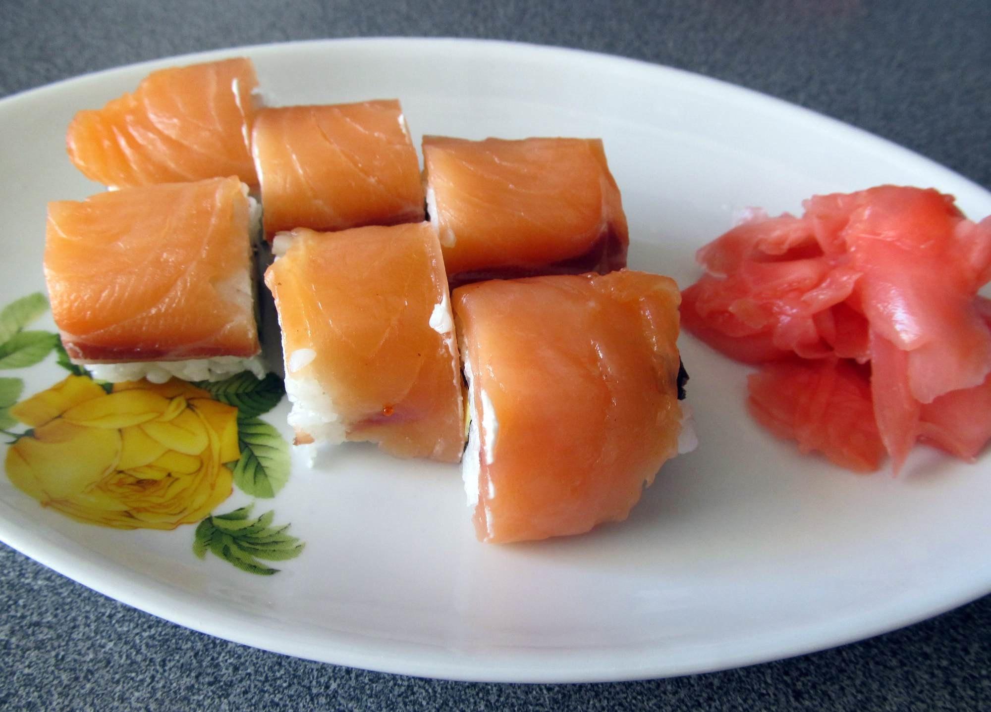 Делать суши филадельфия домашних условиях