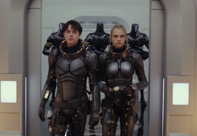Вышел трейлер нового фильма Люка Бессона «Валериан игород тысячи планет»