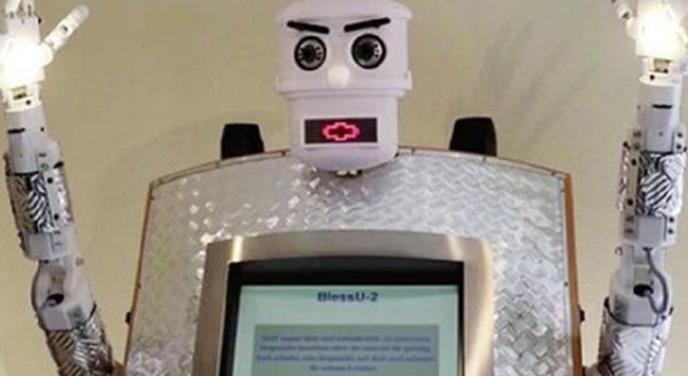 ВГермании священника заменили роботом