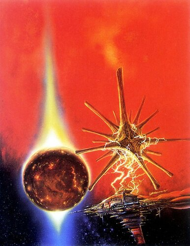 В полёте ... Bob Eggleton Alien Horizons.jpg