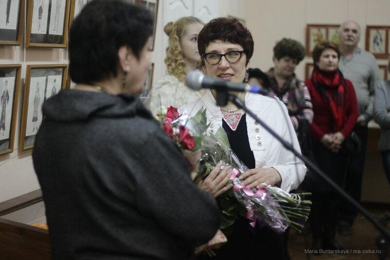 Ольга Колесникова. Театральный художник по костюмам, Саратов, 21 апреля 2017 года