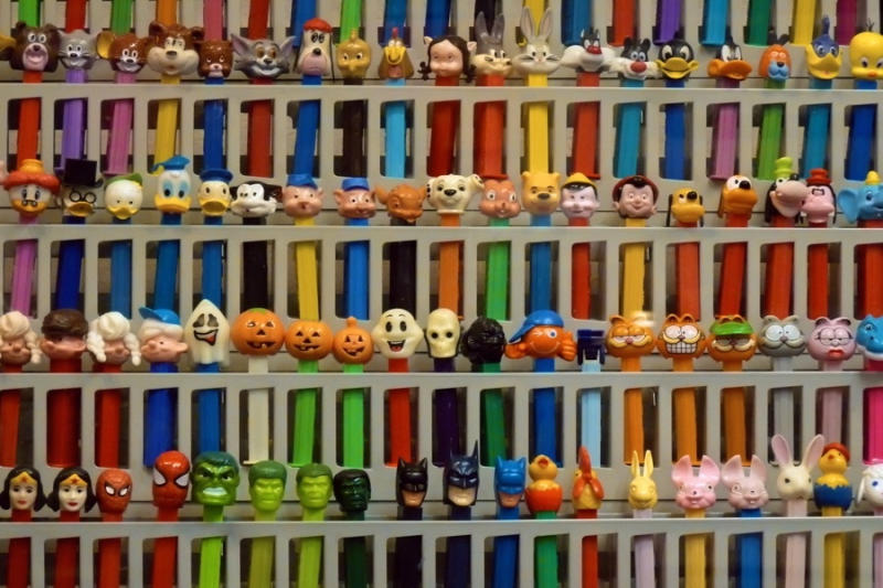Oddly specific and dazzlingly colorful, this museum boasts of having at least one of every PEZ candy