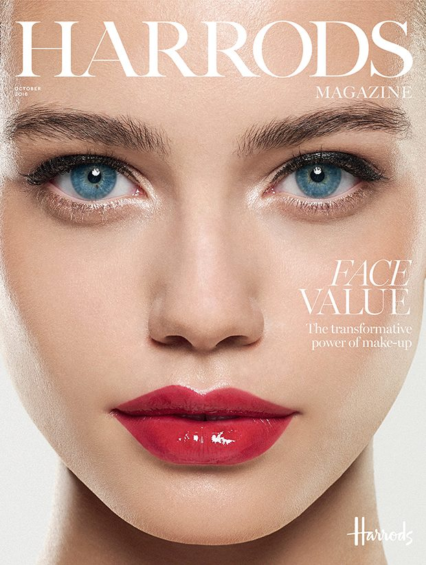 Elle Trowbridge by Rui Faria for Harrods Magazine