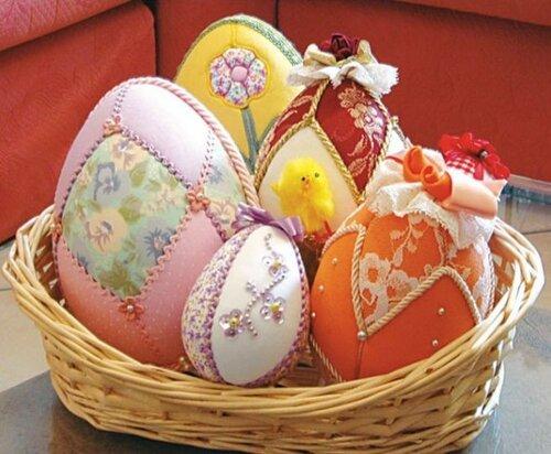 Безыгольный пэчворк яиц
