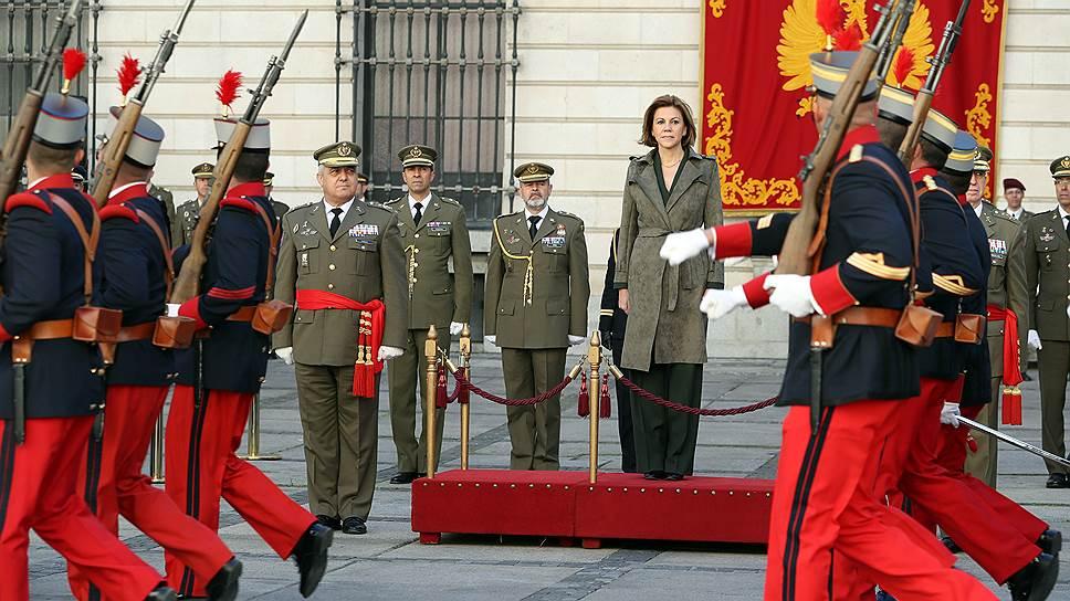 Мария Долорес де Коспедаль занимает пост главы минобороны Испании с 4 ноября 2016 года