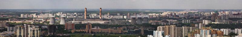 2009, май, панорама Очаково.jpg