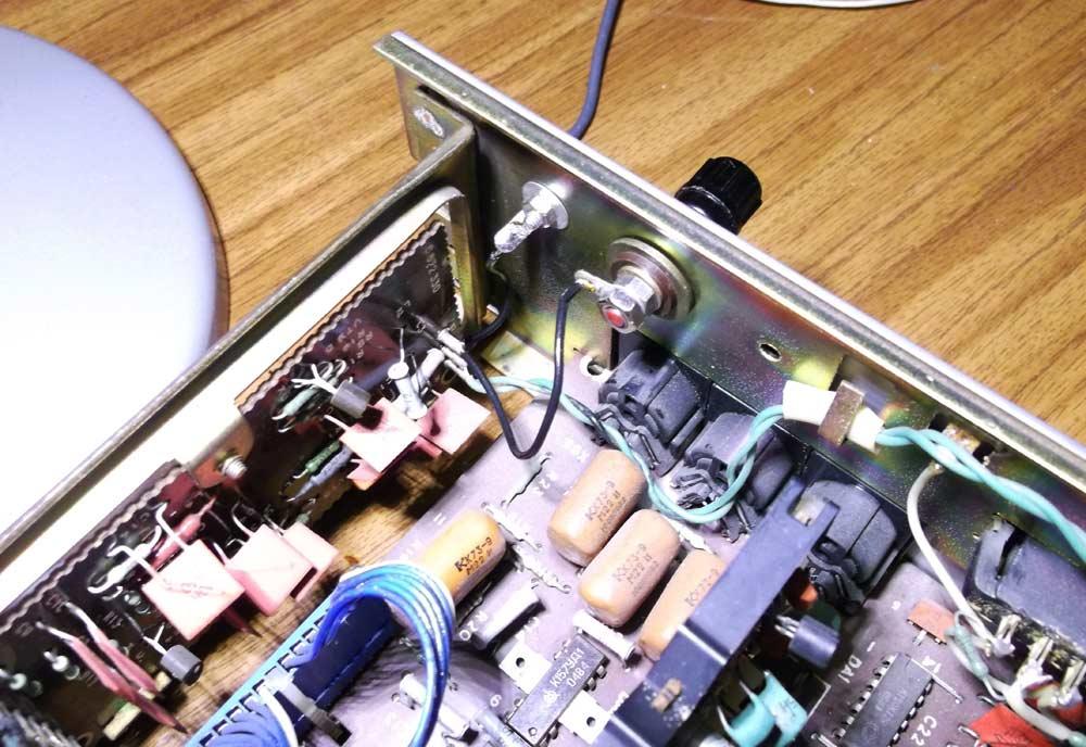 Радиотехника Т-101. Доработка антенного усилителя, установка дополнительного фильтра.