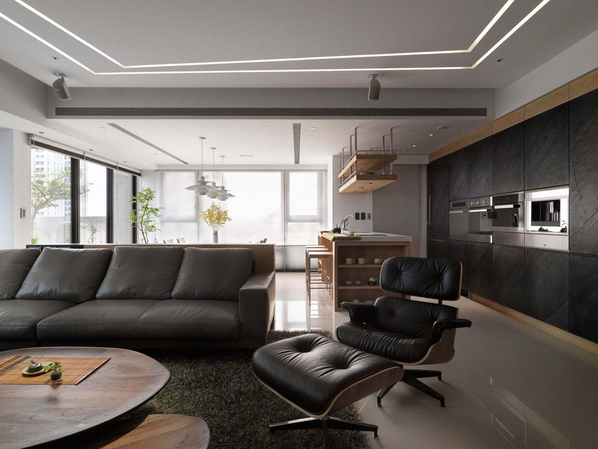 Lounge Chair в гостиной