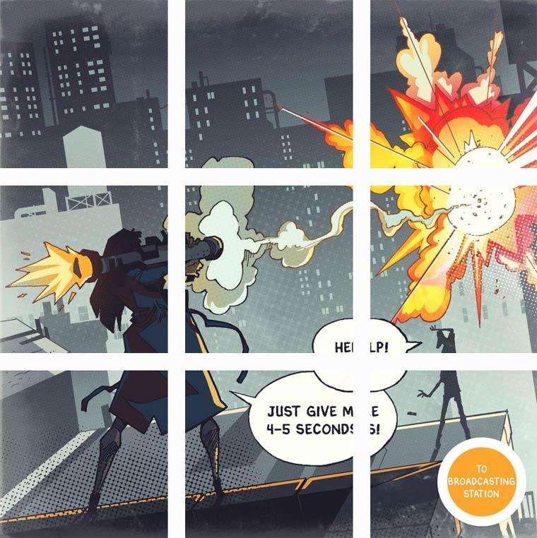 Vous etes le heros - Une etonnante BD interactive publiee sur Instagram !