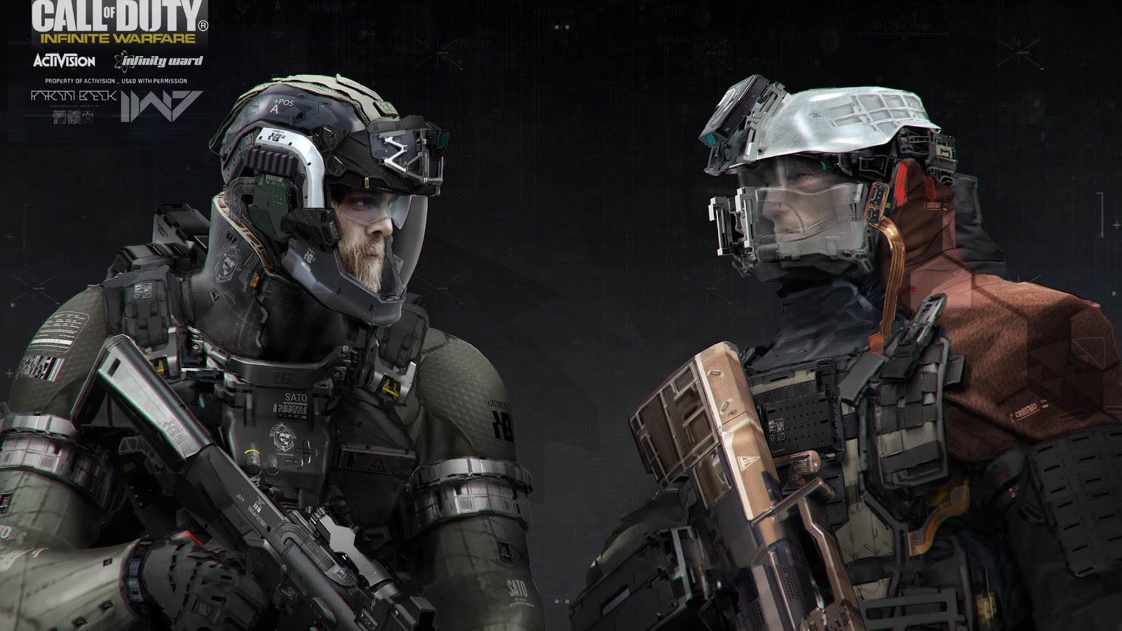 Call of Duty: Infinite Warfare Concept Art by Aaron Beck
