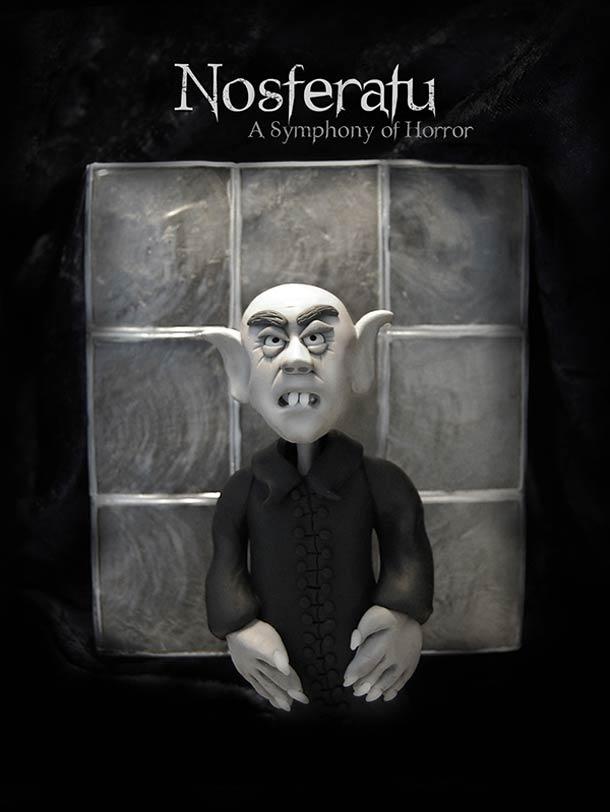Clay Illustration - Affiches de films en pate a modeler